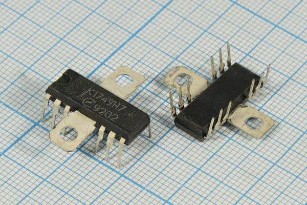 Микросхемы / МС К174УН4Б\DIP-14\ - интернет магазин РадиоИзба.